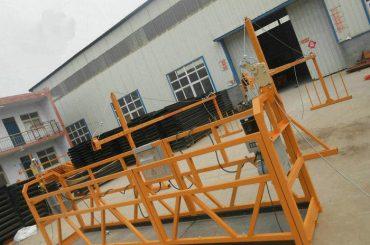zlp系列钢或铝悬挂绳平台
