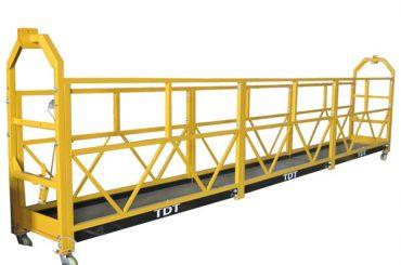 定制zlp1000悬挂式通道平台维护架,钢丝绳8.6mm