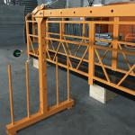 单相悬挂钢丝绳平台800千克1.8千瓦,提升速度8 -10米/分